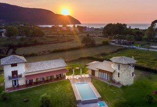 location ageras santa marina apartments lefkada sunset